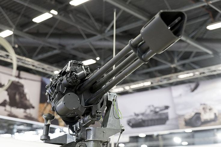 The GAU-19/A (GECAL 50), is an electrically driven Gatling gun that fires the .50 BMG (12.7×99mm) cartridge