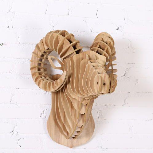 Vædderen | Woodon - dyre møbler, trofæer og lamper