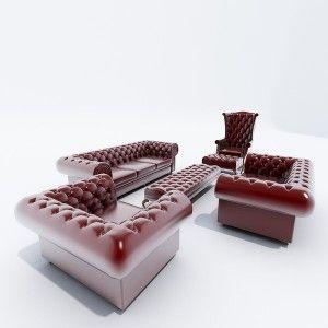 Live Like A Royals: Chesterfield Sofa Set Design Ideas ~ Decoration Inspiration