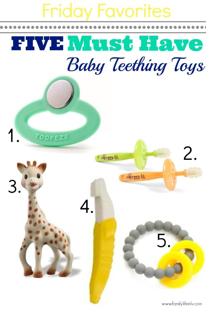 "FIVE MUST HAVE TOP TEETHING TOYS! ""baby teethers"" ""Teething toys"" ""Teething Baby"""