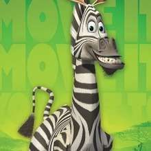 Madagascar 2: Marty the zebra Garland