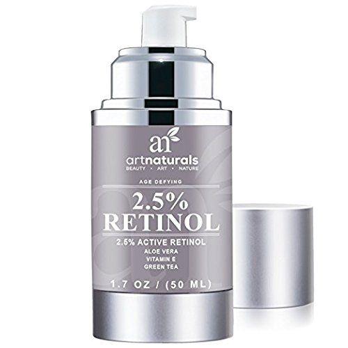 Art Naturals Crème Hydratante Rétinol Enrichie 2,5% avec 20% de vitamineC et d'Acide Hyaluronique 30ml – Soin Anti-Rides Idéal, Sérum…