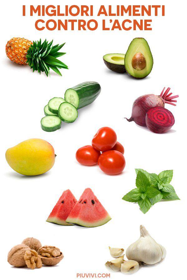 dieta vegana cura acne