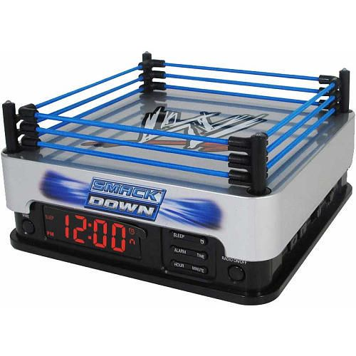 WWE Smackdown Alarm Clock Radio via@Next Sport Star