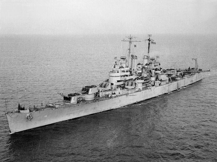 USS Denver (Cl-58) - 1944