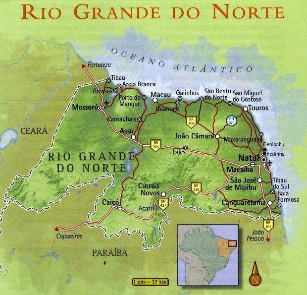 O Rio Grande do Norte tem uma rica cultura e história, além de praias com muito sol, dunas e falésias e sertão (seridó) com paisagem singulae e as inscrições rupestres.
