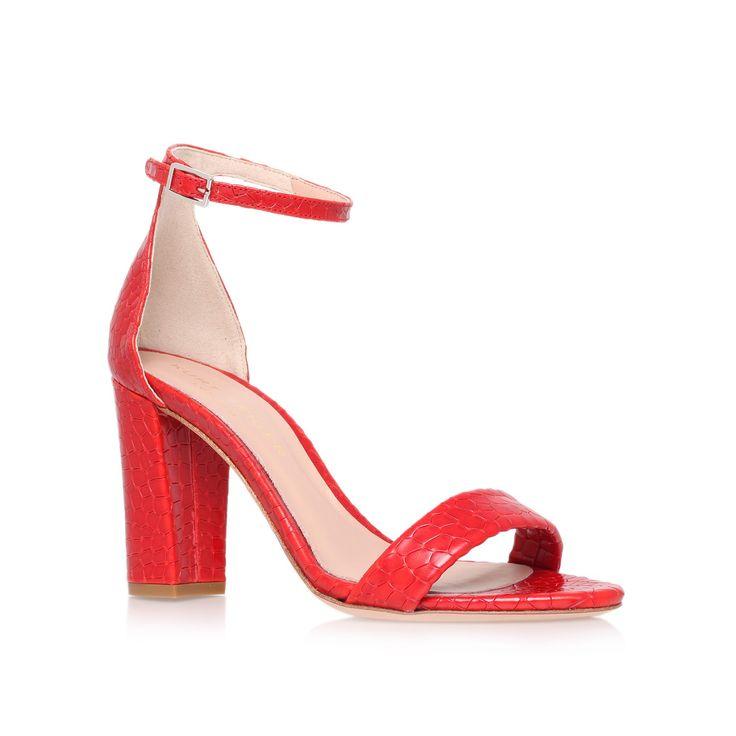 Isabella crocodile print sandals, £195 www.kurtgeiger.com
