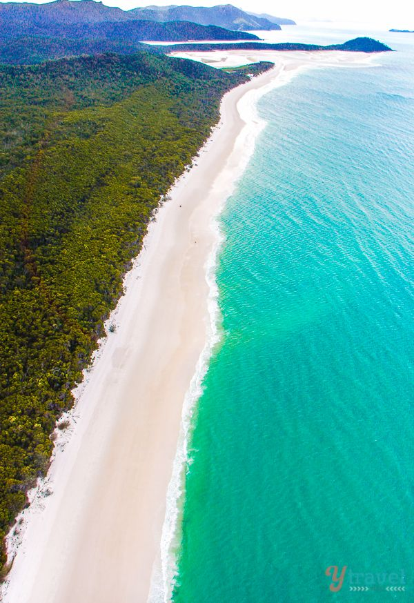 Whitehaven Beach, Queensland - Places to visit in Australia on our 1 year family road trip!