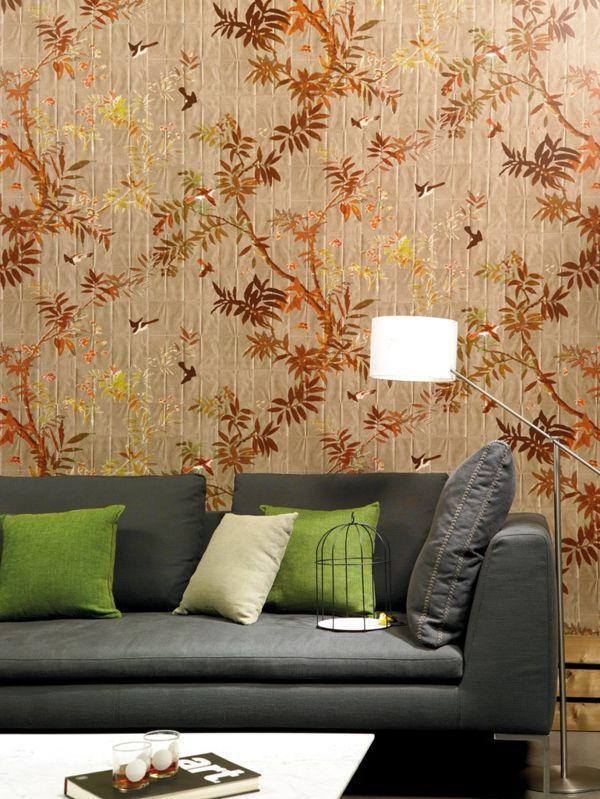 20 Ideen für moderne Muster Tapeten erfrischen die Einrichtung