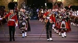 Edinburgh Tatoo!