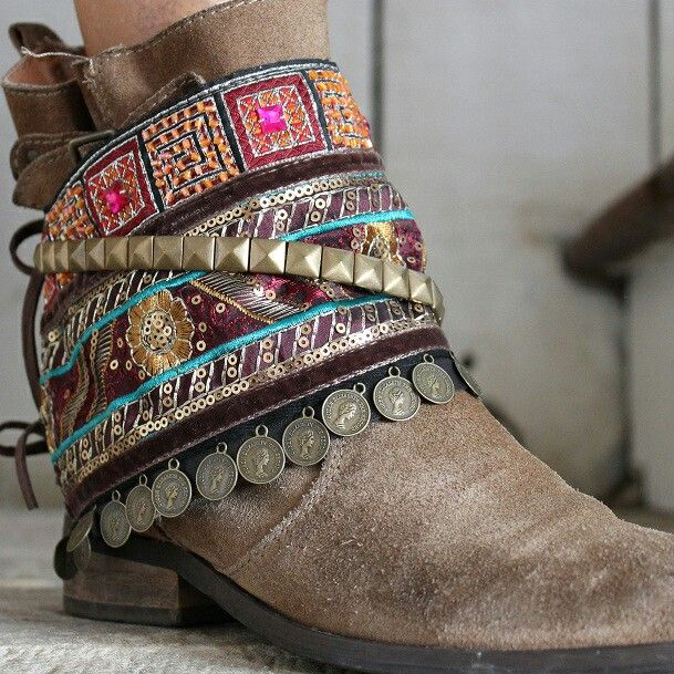 decorative shoe wraps
