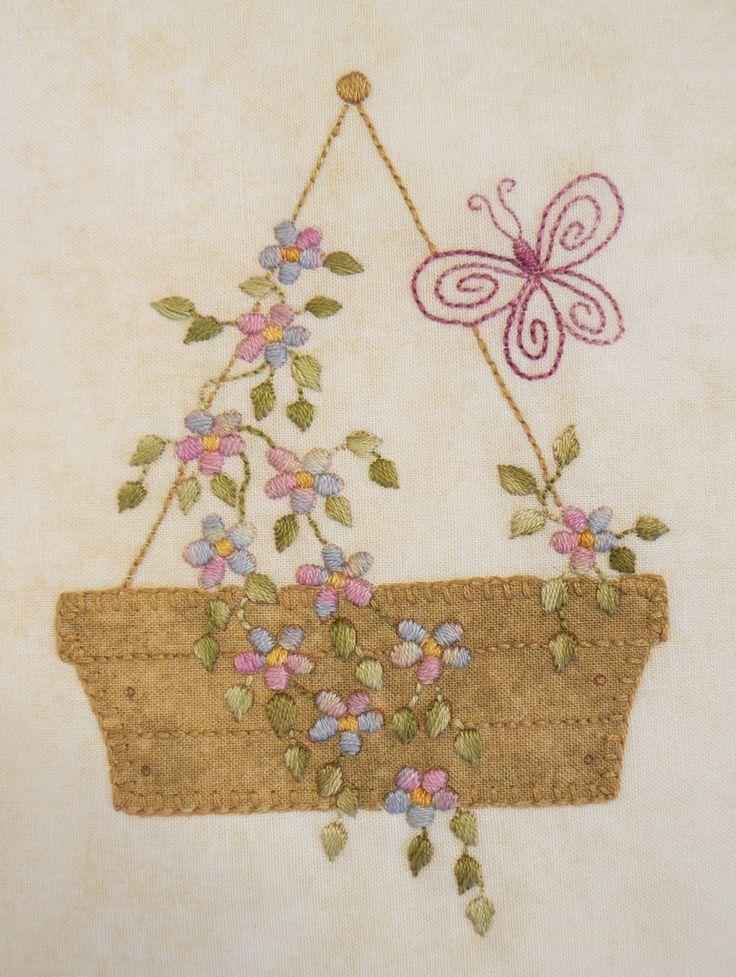 Forget-Me-Not Garden BOM – A Patchwork Quilt