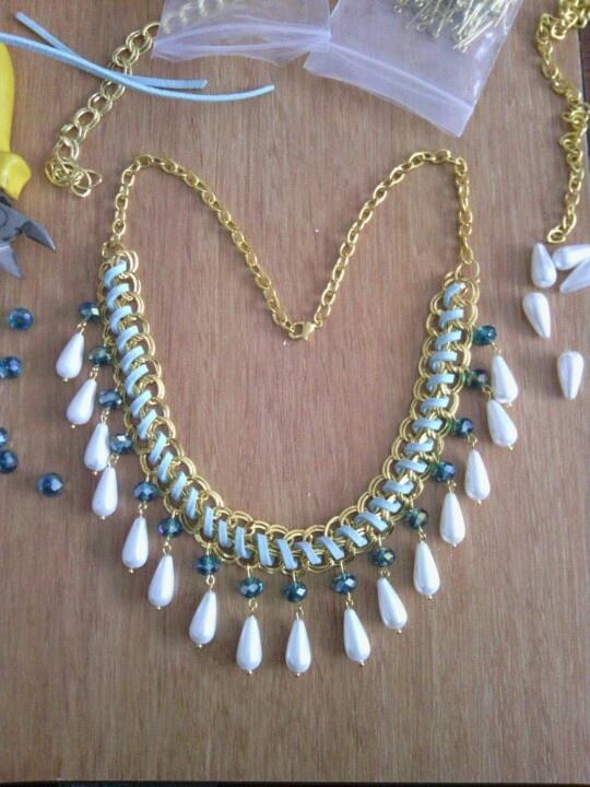 Necklace, dxiy, colar, collar, www.facebook.com/bijuteriademoda