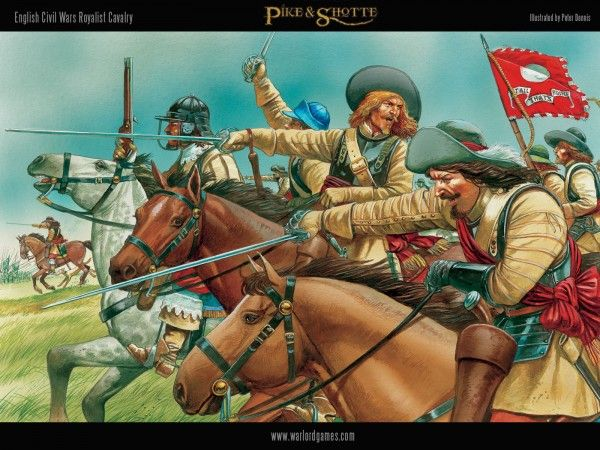 English Civil Wars Royalist Cavalry