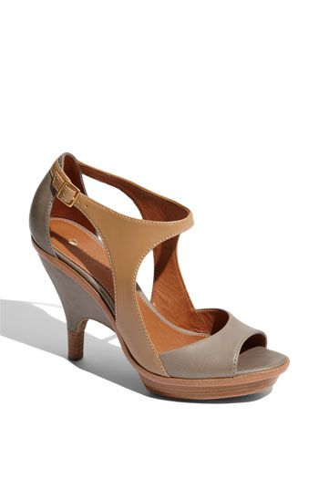 Shoe architecture - Leifsdottir 'Ilona' Open Toe Pump--exactly what I've been looking for this summer. I need a good neutral shoe.