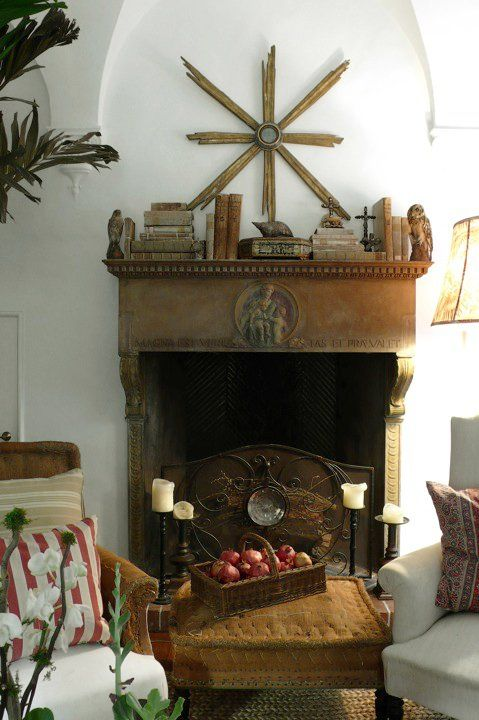 43 best fireplaces mantels decorated fireplaces images on