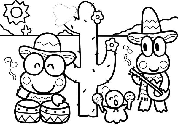 kerokeropi coloring pages | 160 best Sanrio Coloring Pictures images on Pinterest ...