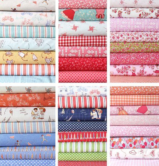 Darling fabric by Sarah Jane