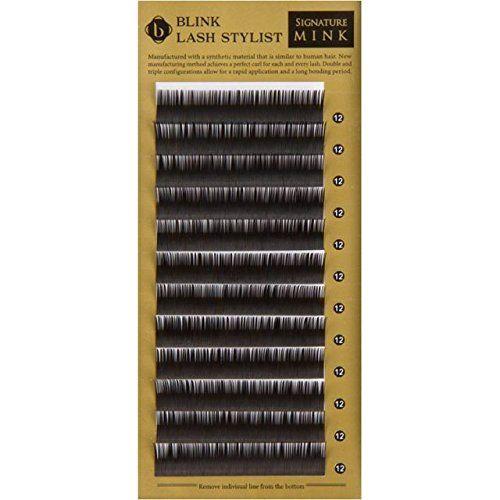 Blink Mink Lash False Eyelash Extension C Curl Thickness 0.15 (mm) (0.15*13). Brand : Blink Lash. Product Type : Mink Lash. Curl : C. Thickness : 0.15 (mm). Length : 7 8 9 10 11 12 13 14 15 (mm).