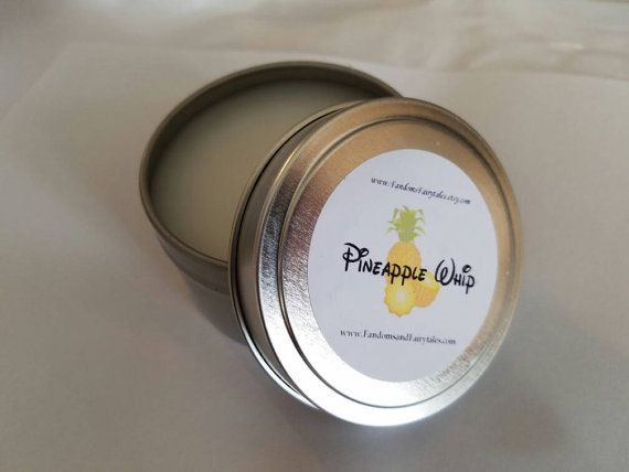 Pineapple Whip Candle Dole Whip Scented Candle Disney