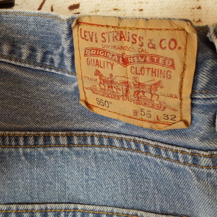 Levis 550 Jeans Big Mens size 54 x 31 relaxed fit medium wash Blue #Levis #Relaxed