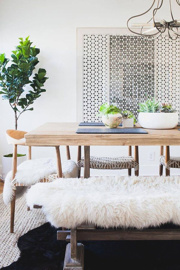 Boho Decor Dining Room | Bohemian Home