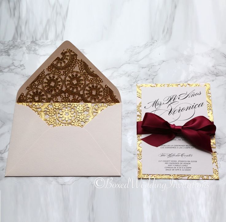 Best 25 quinceanera invitations ideas on pinterest blush this beautiful invitation card sets the stage for elegant festivities the gold lace and the blush cardstock are such a great combination stopboris Images
