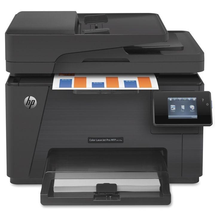HP LaserJet Pro M177FW Laser Multifunction Printer - Color - Plain Paper Print - Desktop
