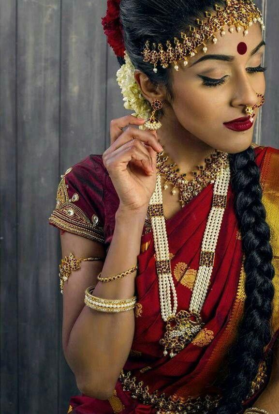 Bharathanatyam dancer in her full attire
