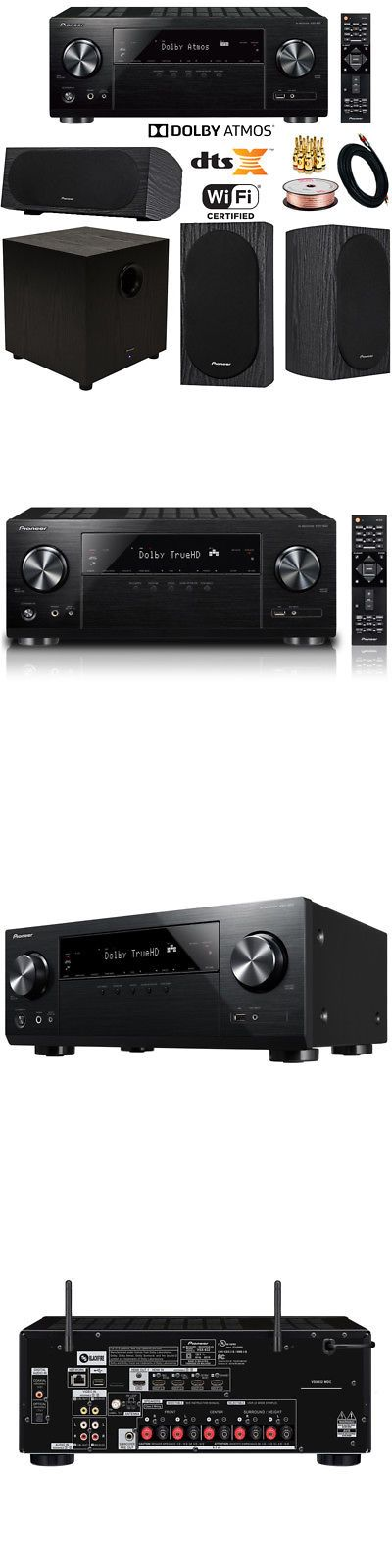 Stereo Receivers: Pioneer Vsx-832 5.1-Ch Network Av Receiver Uhd Pass-Through Hdcp 2.2 Speaker Kit -> BUY IT NOW ONLY: $959.99 on eBay!