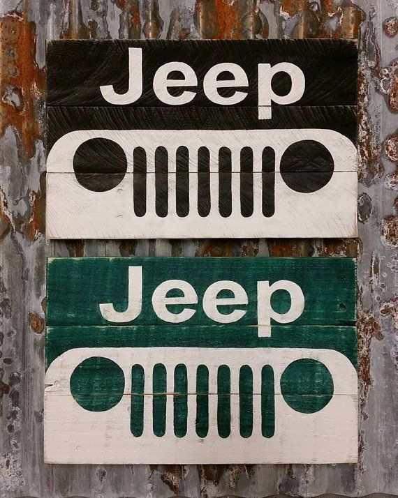 Check out this item in my Etsy shop https://www.etsy.com/listing/269006739/jeep-rustic-wood-sign