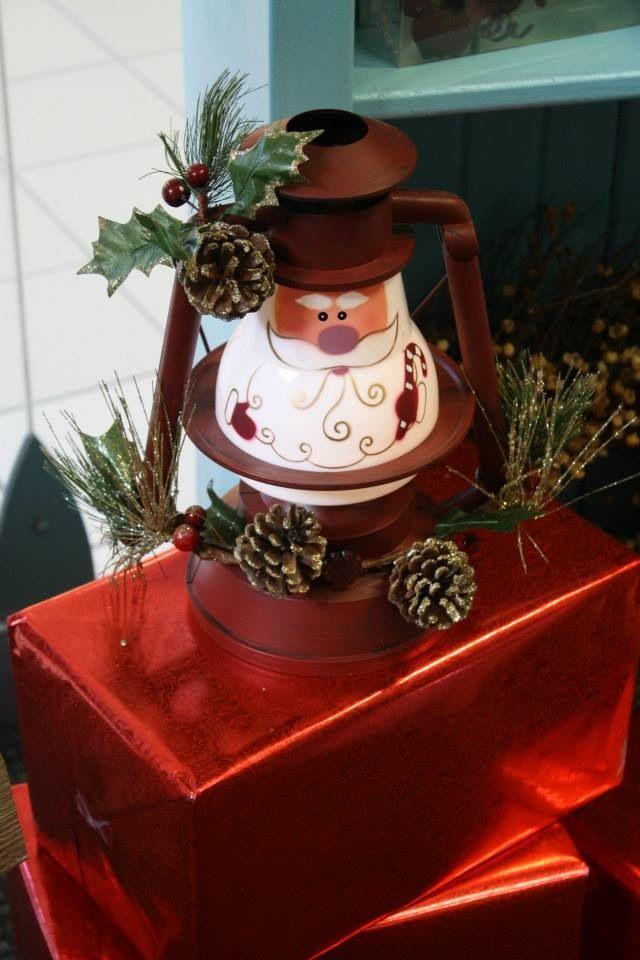 Santa Lantern Pick-it-Fence Pembroke www.facebook.com/pickitfence