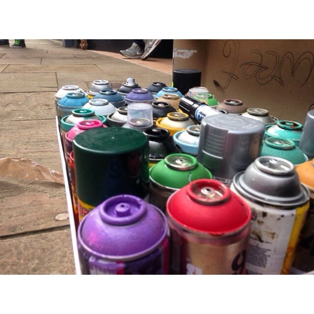 Blackburn is Open Street Party #biostreetparty #blackburnisopen #blackburn #streetparty #spraypaint #graffiti #streetart