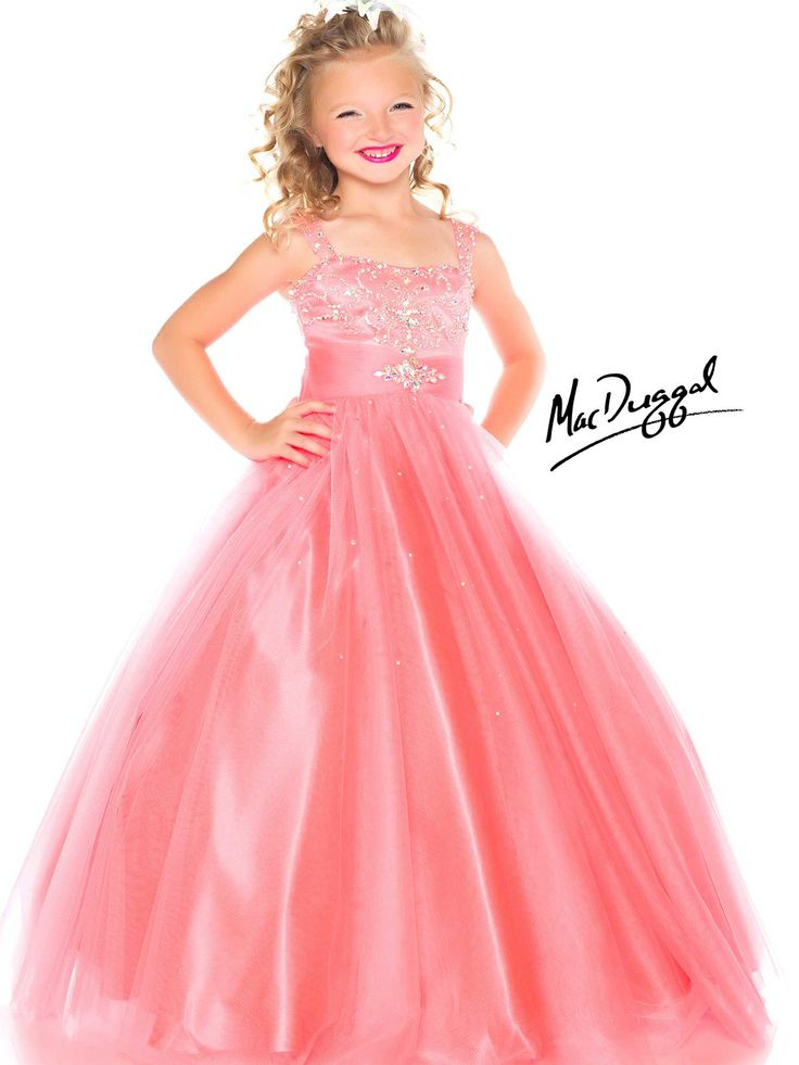 Let the judges see why you qualify to win it all in the beaded accent girls.  Little Girl Pageant DressesUnique ...