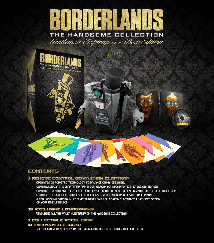 2K and Gearbox have today announced that Borderlands: The Handsome Collection Gentleman Claptrap-in-a-Box Edition will be arriving on Xbox One and PS4, later this month. Arriving on November 27th 2015, The Handsome Collection Gentleman Claptrap-in-a-Box Edition will appear on Xbox One and PS4, featu…