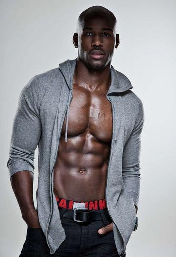 Celebrity Trainer Dolvett Quince from The Biggest Loser. Yes Sir!