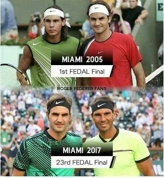 ~Rafael Nadal & Roger Federer ~ Rewriting history.  37 matches and 23 finals. Both exceptional men!!#