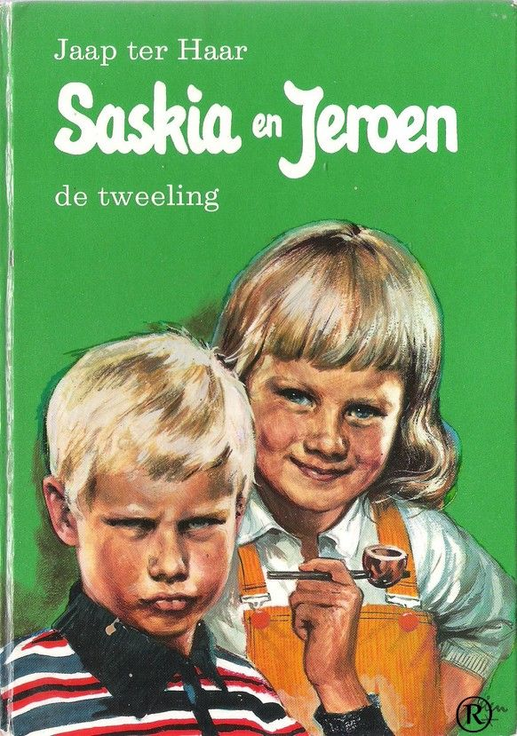 Saskia en Jeroen de tweeling.   Schrijver: Jaap ter Haar. Uitgegeven door Holkema & Warendorf-Bussum