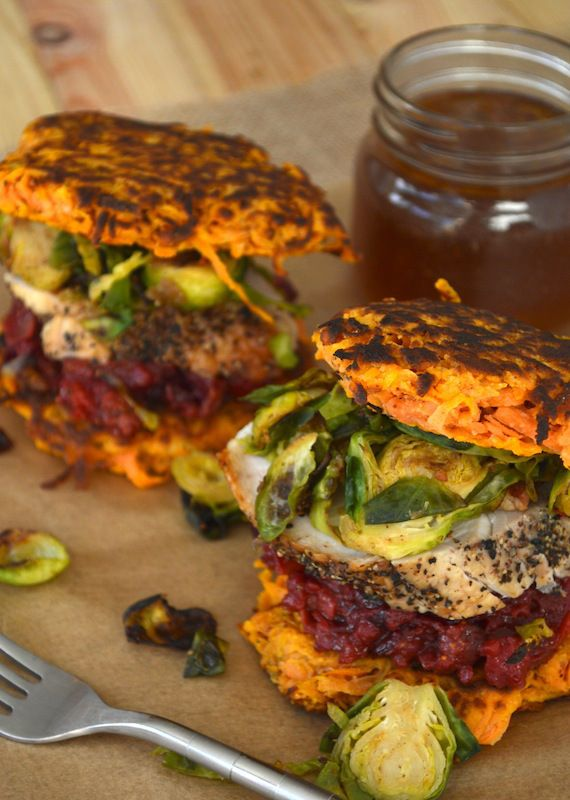 """Paleo Thanksgiving Leftovers """"Sandwich""""   stupideasypaleo.com #paleo #realfood #thanksgiving"""