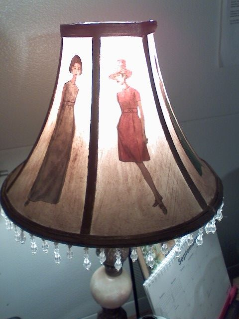 Best 25 lampshades ideas on pinterest ikea lamp shade diy vogue fashion lamp shade if youre finding it difficult to find cheap vintage home decor why not make your own this vogue fashion lamp shade is budget mozeypictures Gallery