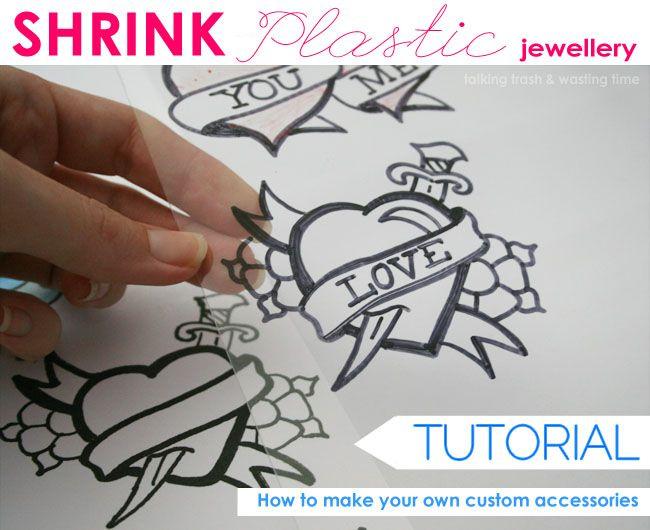 Talking Trash & Wasting Time: Shrink Plastic accessory tutorial