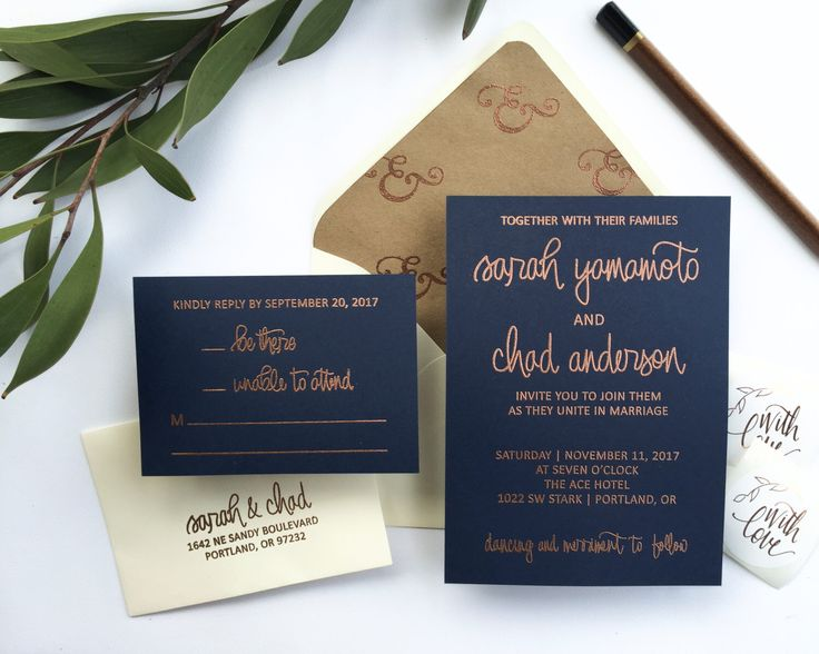 Wedding Invitation Stamp Suite