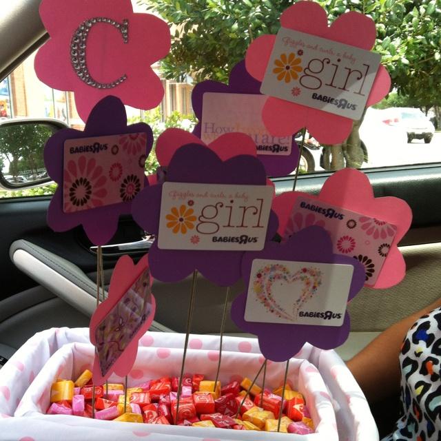 best gift card basket images on   gift card basket, Baby shower invitation