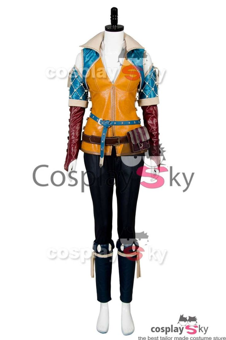 The Witcher 3 Wild Hunt Triss Cosplay Costume #cosplaysky_fr #cosplay