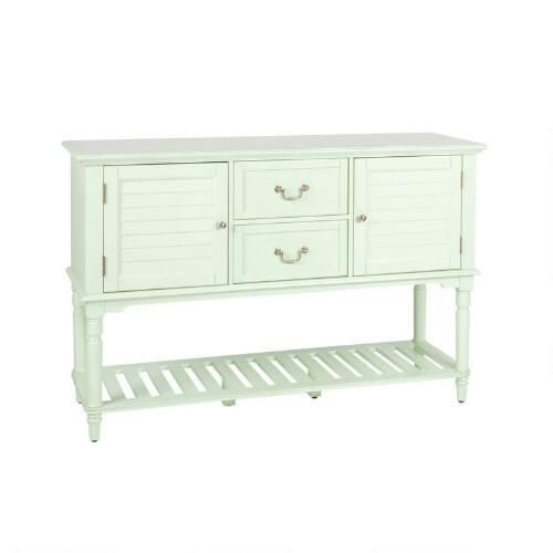 One of my favorite discoveries at ChristmasTreeShops.com: 2-Door/2-Drawer Louver Sideboard Cabinet