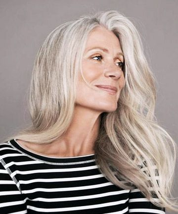 110 best cover grey hair images on Pinterest | Hair dos, Gorgeous ...