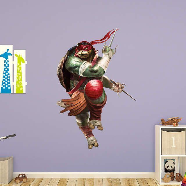 Best FatHead Mural Images On Pinterest Teenage Mutant Ninja - Ninja turtle wall decals