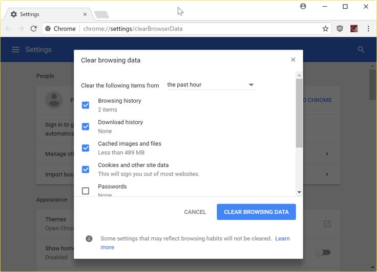 How To Delete Chrome S Browsing Data Super Quickly