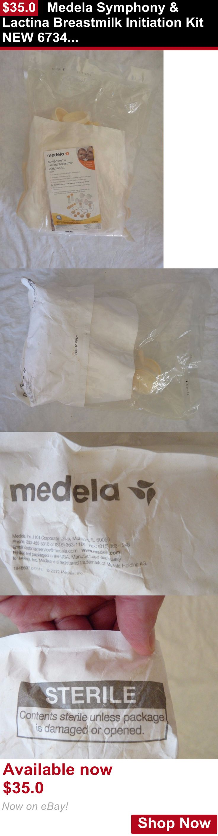 Breastfeeding Supplies: Medela Symphony And Lactina Breastmilk Initiation Kit New 67340S BUY IT NOW ONLY: $35.0