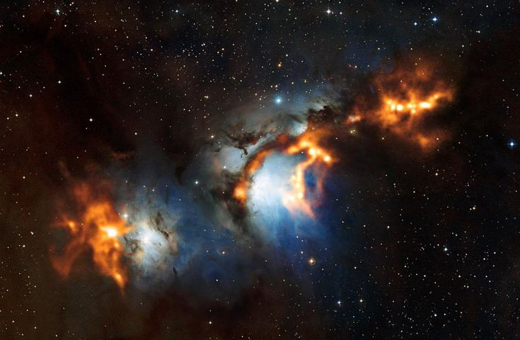 Best astronomy images 2012: Cold fire in Orion